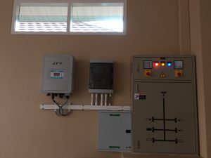 การใช้งานแผงโซล่าเซลล์ ระบบออนกริด เพื่อใช้ลดค่าไฟจากการไฟฟ้า